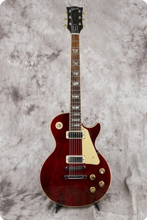 Gibson Les Paul Deluxe 1977 Wine Red