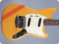 Fender-Mustang -1969-Yellow Competition