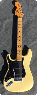 Fender Stratocaster Lefty 1976 White (creme)