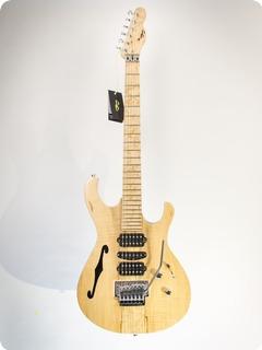 Pd Guitars Fusion Semi Hollow 2017 Natural