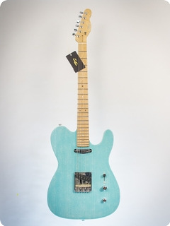 Pd Guitars Tele 2018 Turquoise