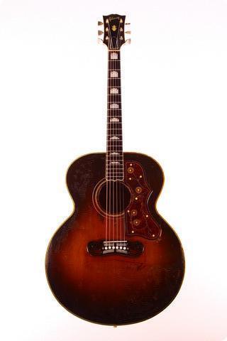 Gibson Sj 200 1952 Sunburst