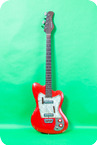 Coral Deluxe Bass 1967 Red
