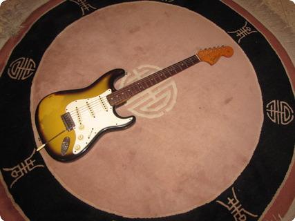 Fender Stratocaster 1965 Sunburst (2 Tone Fade)
