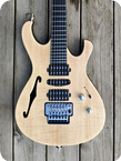Pd Guitars Fusion Semi hollow 2020 Natural