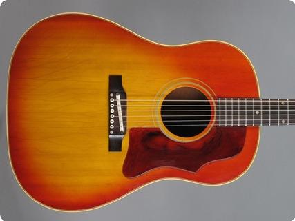 Gibson J 45 (...wide Neck!) 1965 Cherry Sunburst