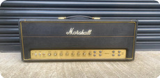 Marshall JTM45 Super 100 Head 1966 Black