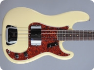 Fender Precision 1963 Olympic White
