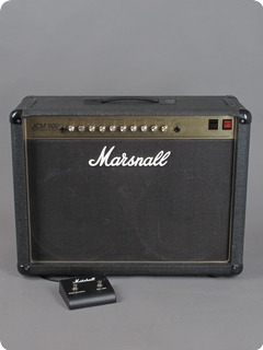 Marshall 4502 Jcm900 Higain Dual Reverb 1994 Black Levant