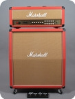 Marshall JVM205 50W 1960TV 4x12 Limited 2008 Red Levant