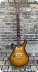 Paul Reed Smith Custom 22 LTD50 10 Top 2010 Amber Black Burst