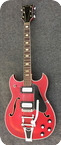 Elie Crucianelli Semiacoustic 1969 Cherry Red