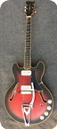 Eko 290 2v Barracuda 1969 Red Burst