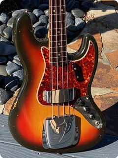 Fender Jazz Bass 1965 Sunburst Finish