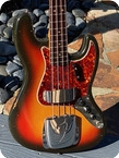 Fender Jazz Bass 1966 Sunburst Finish