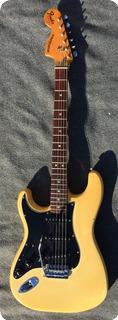 Fender Stratocaster Lefty 1976 White Creme