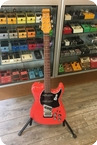 Burns London Nu Sonic Prototype Translucent Red 1996 Translucent Red