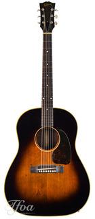 Gibson J45 Sunburst Restored 1952