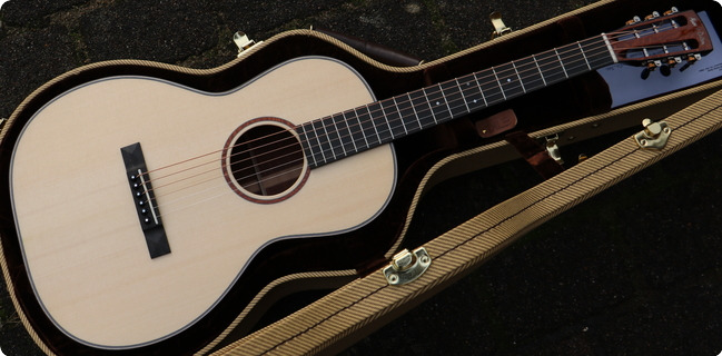 Huss & Dalton Oo Sp Custom Italian Spruce Top Leopard Wood Back And Sides 2020