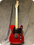 Squier Telecaster 2005 Wine Red Metallic
