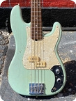 Fender TRANS SURF PRECISION BASS RELIC 2017 Trans Surf Green