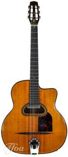 Rodrigo Shopis Favino D Hole 12 Fret Gypsy Guitar 2014