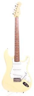 Squier Fender Japan Stratocaster Silver Series 1993 Vintage White