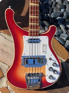 Rickenbacker 4001 Mono Bass  1969 Fireglo Finish