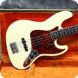 Fender Jazz 1964 Olympic White Refinish