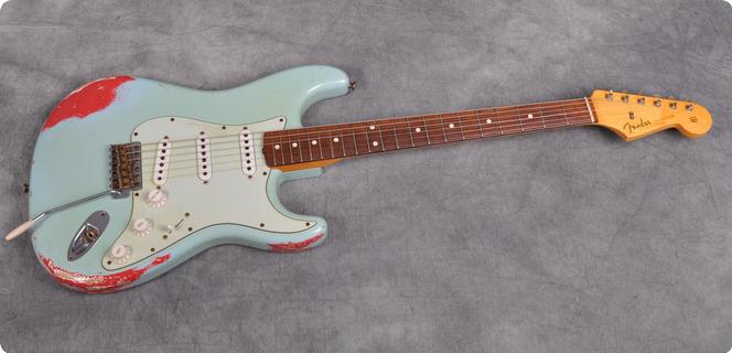 Fender Custom Shop Relic 1960 Stratocaster 2013 Sonic Blue