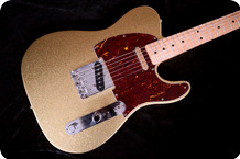 Fender Custom Shop Telecaster 1995 Sparkling Gold Finish
