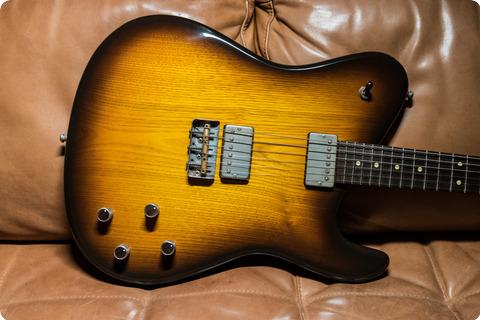 Tausch Guitars Montreux Tobacco Burst
