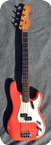 Fender Precision Bass 1963 Fiesta Red Custom Color