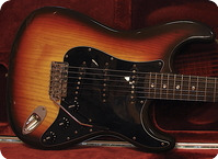Fender Stratocaster 1979 3 Tone Chocolate Sunburst