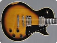 Gibson Les Paul Custom 1981 Tobacco Sunburst