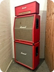 Marshall Super Bass 100 Full Stack Red 1972 Red