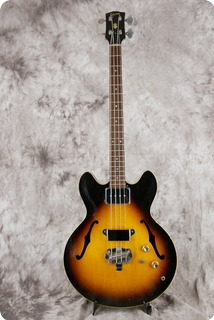 Gibson Eb 2 1966 Sunburst