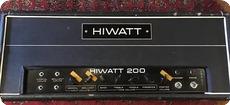 Hiwatt DR201 200W Ex Ronnie Lane Small Faces 1970 Black