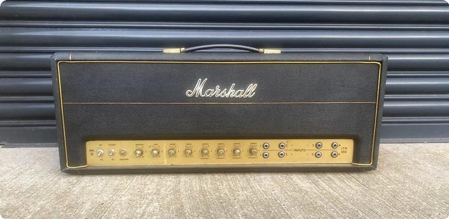Marshall Jtm45 Super 100 Head 1966 Black