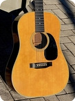 Martin D 28S 1971 Natural Finish