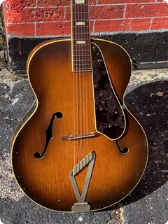 Gretsch 6014 Synchromatic 100 1950 Sunburst Finish