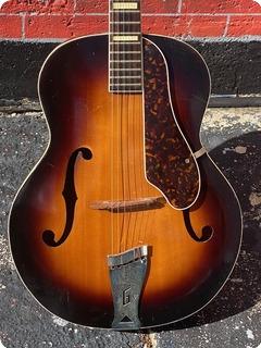 Gretsch 6014 Synchromatic  1953 Sunburst Finish