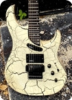 Washburn EC29 Spitfire 1988 White Crackle Finish