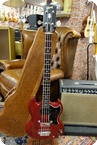 Gibson Gibson EB 0 1962 Cherry With OHSC 1962 Cherry