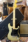 Fender Stratocaster 1979 Gold 25th Anniversary OHSC 1979 Gold