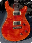 PRS Custom 22 10 Top 20th Anniversary 2005 Gretsch Orange