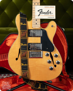 Fender Starcaster 1976 Natural