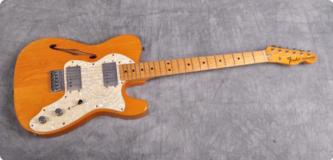 Fender Telecaster Thinline 1972 Nature