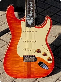 Hamiltone Srv Stevie Ray Vaughan Reissue  2007 Cherry Sunburst Finish