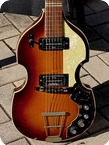 Hofner Guitars 459TZ BEATLE VIOLIN GUITAR 1968 Sunburst Finish